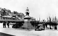 Brixham, Prince Of Orange Statue 1906