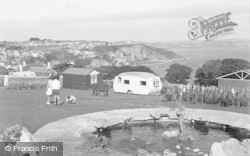 Brixham, Rock Gardens, Bay View Holiday Estate 1951