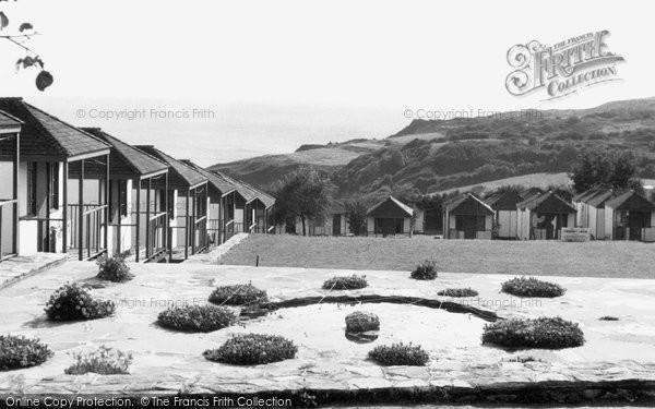Brixham, Sharkham Point from Dolphin Holiday Camp c1950