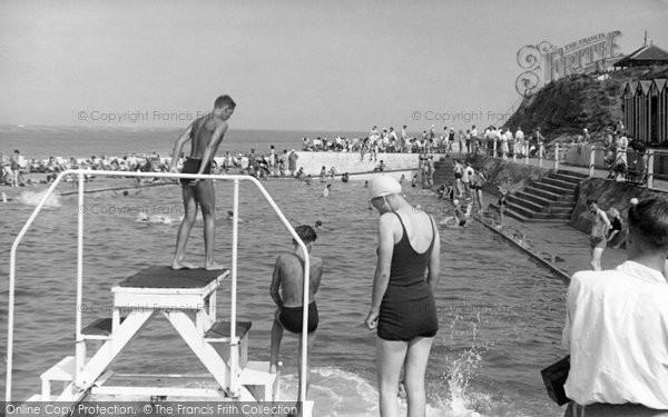 Photo of Brixham, Shoalstone Pool c1950