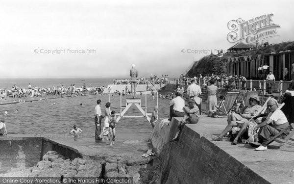 Brixham, Shoalstone Pool c.1955