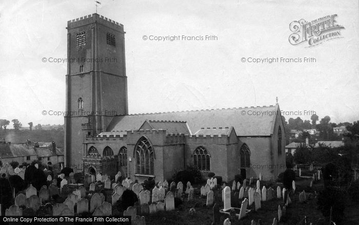 Brixham, St Mary's Parish Church 1889