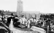Brixham, St Mary's Parish Church 1922