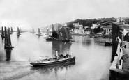 Brixham, Steamer And Fishing Boats 1906
