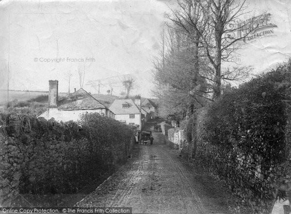 Brixham, Summers Lane 1905