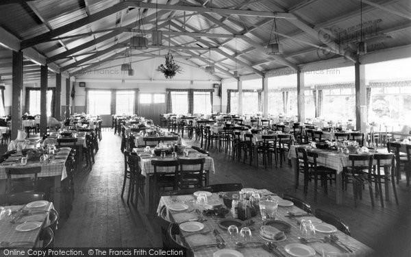 Brixham, The Dining Room, St Mary's Bay Holiday Camp 1957