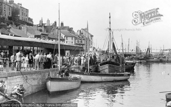 Brixham, The Fish Quay c.1950