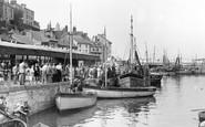 Brixham, The Fish Quay c.1950