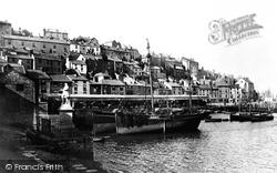 Brixham, The Harbour 1896