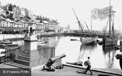 Brixham, The Harbour 1925