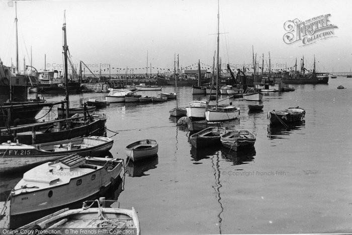 Brixham, The Harbour c.1950