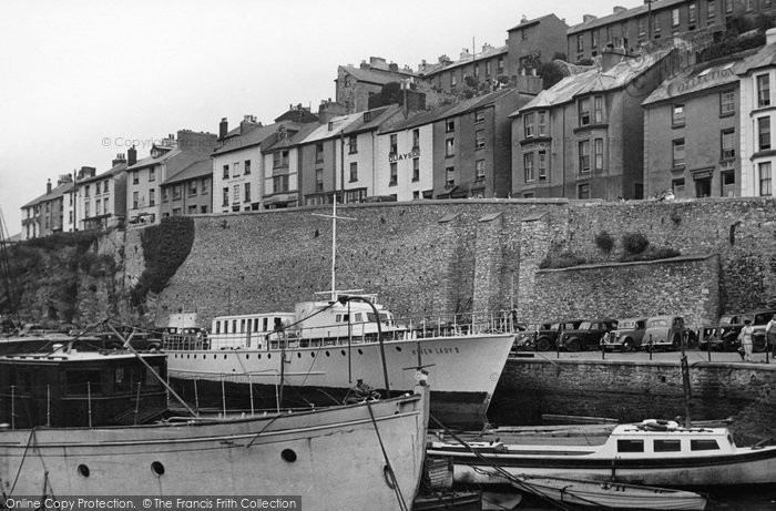 Brixham, The Harbour c.1950