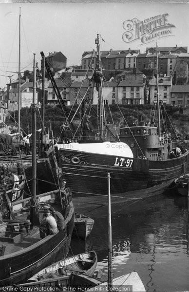 Brixham, The Harbour c.1955