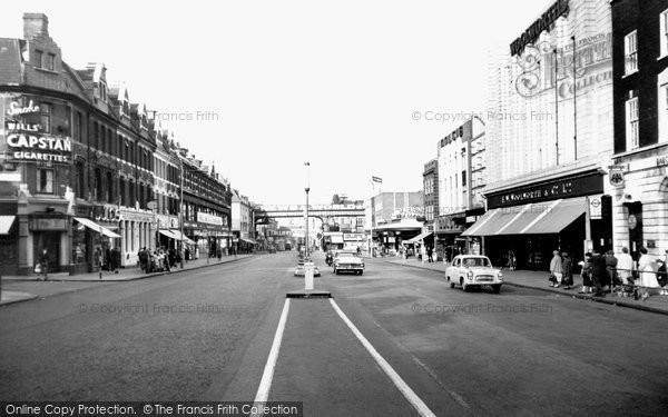 Photo of Brixton, Brixton Road c1960