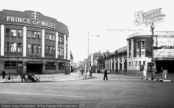 Brixton, Coldharbour Lane c.1960