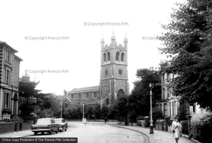 Brixton, St John's Church c.1965
