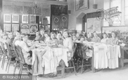 Brize Norton, County Primary School, Needlework Class c.1930