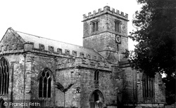 Broad Chalke, All Saints' Church c.1955