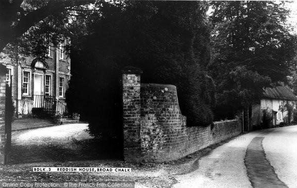 Broad Chalke, Reddish House c.1955