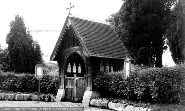 Broad Chalke, The Lych Gate c.1955