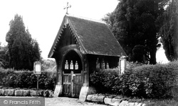 Broad Chalke, The Lych Gate c.1955