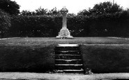 Broad Chalke, The Memorial c.1955