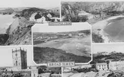 Broad Haven, Composite c.1960