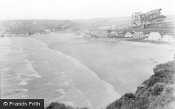 Broad Haven, From South Cliffs c.1955
