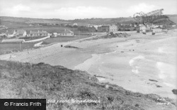 Broad Haven, Seafront c.1955