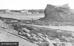 Broad Haven, The Beach c.1955
