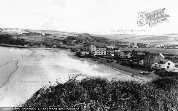 Broad Haven, The Beach c.1960