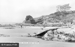 Broad Haven, The Lion Rock c.1955
