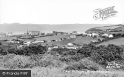Broad Haven, The Village c.1960