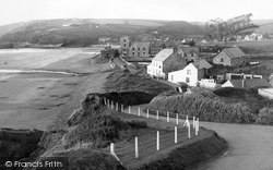 Broad Haven, View From The Coast Road c.1955