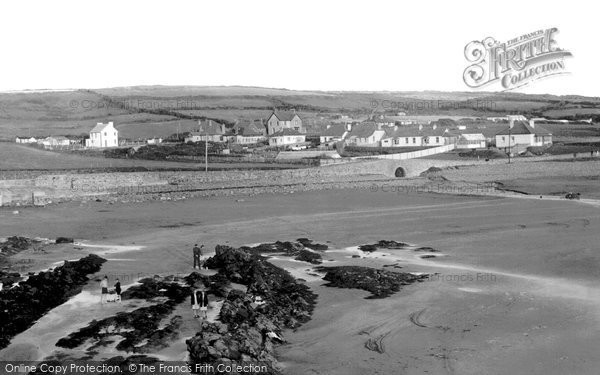 Broad Haven, View From The Rocks c.1960