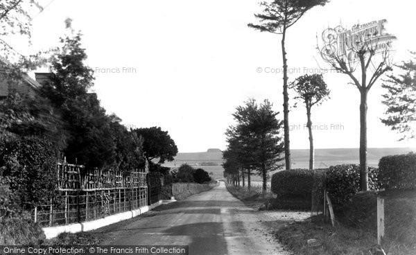 Broad Hinton, Marlborough Road c.1955