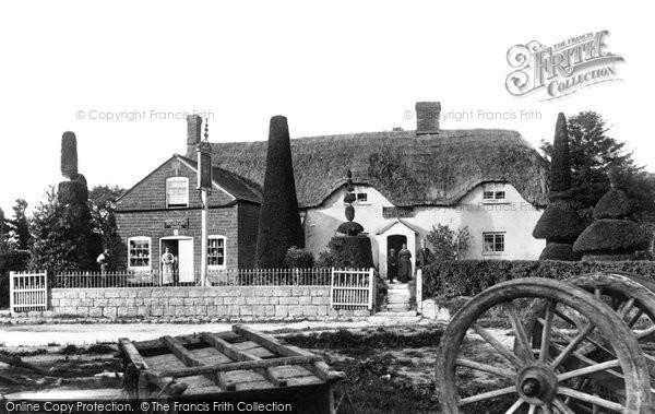 Broad Hinton, The Crown Inn c.1881