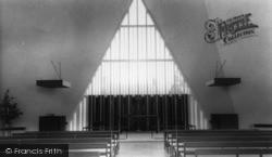 Broadbridge Heath, Church Of St John Interior c.1965
