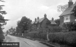 Horsham Road 1924, Broadbridge Heath