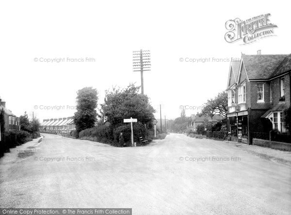Photo of Broadbridge Heath, Portsmouth And Guildford Roads 1924