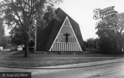 Broadbridge Heath, St John's Church c.1965