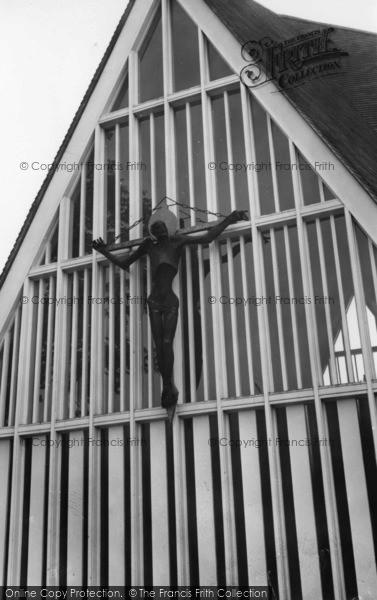 Photo of Broadbridge Heath, St John's Church c.1965