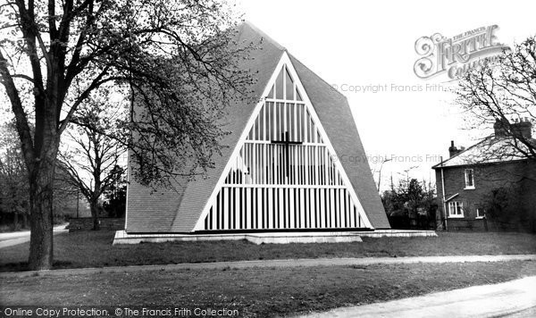 Photo of Broadbridge Heath, The Church Of St John c.1965