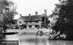 Broadbridge Heath, The Pond, Lower Broadbridge c.1964