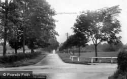 Warnham Road 1924, Broadbridge Heath