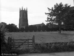 Broadclyst, St John's Church 1951