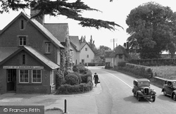 Broadclyst, The Village 1950