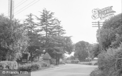 Broadclyst, Village Looking South 1951