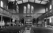 Broadstairs, Church Interior 1912
