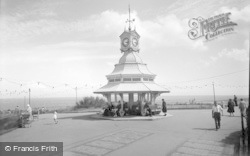Broadstairs, Clock Tower On Cliff Top 1962